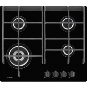 AEG Gas On Glass Hob - 0