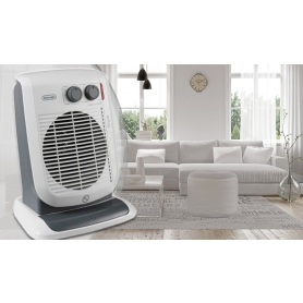 Delonghi 3KW Upright Fan Heater