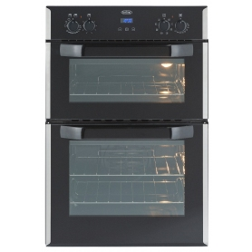 Belling Built-In Double Electric Oven In White