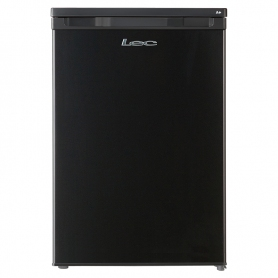 Lec Undercounter Fridge In Black